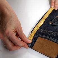 Стильный гамак из старых джинсов. Шаг 4