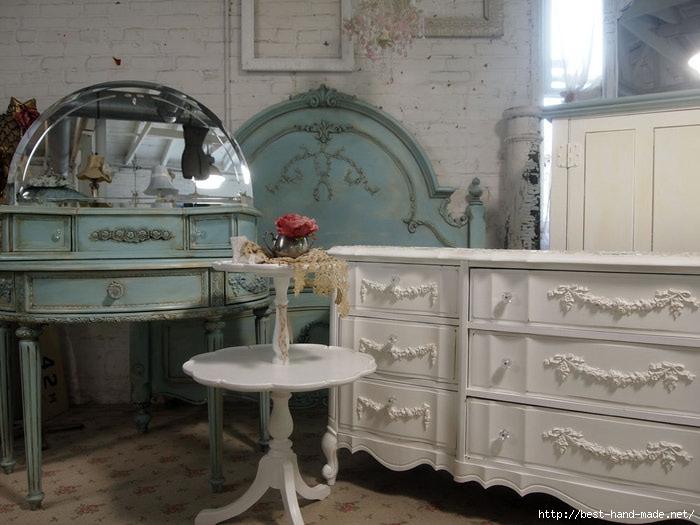 Любителям стилей French Vintage, Vintage и Snabby Chic посвящается...