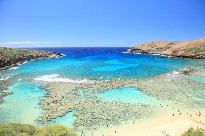 9. Залив Ханаума, Гавайи вай фай, интернет, отдых
