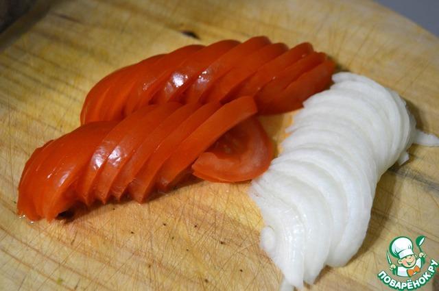 Простая овощная запеканка с куриной грудкой
