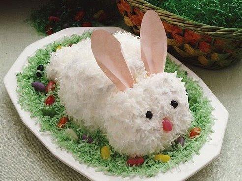 """Салат """"Белый заяц"""" - украшение новогоднего стола"""