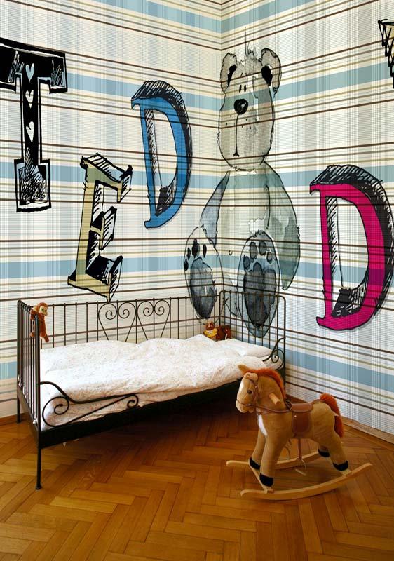 оригинальные фотообои для стен Wall&Deco