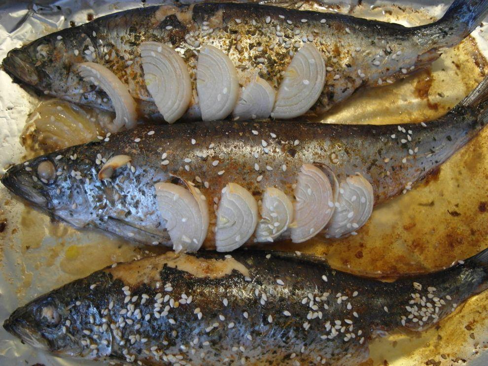 Жареная соленая селедка рецепт с фото