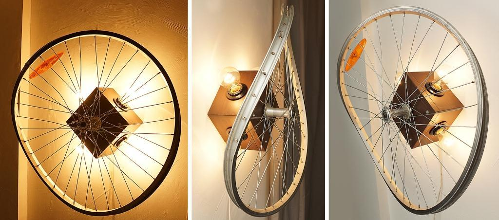 Поделки из велосипедных колес фото 26