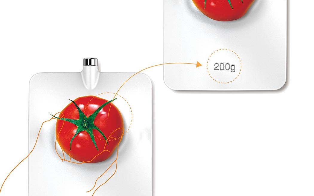 Кухонные весы-грелка