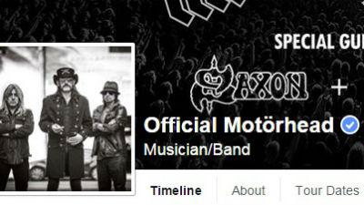 Лидер группы Motörhead ушел из жизни