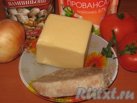 """Салат """"Мясо по-французски"""""""