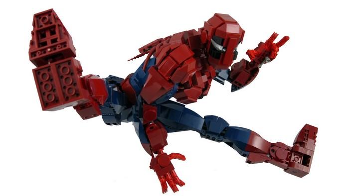 лего машина человек паук