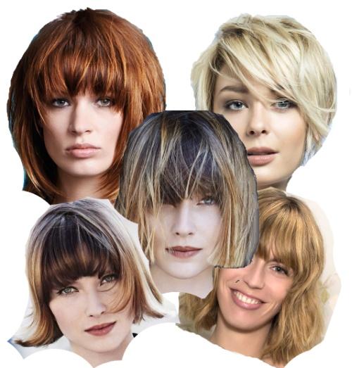 Стрижки на средние волосы для женщин после 50 лет фото - 92