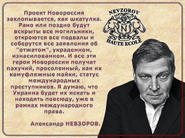 """Невзоров: """"В 2015 году росси…"""