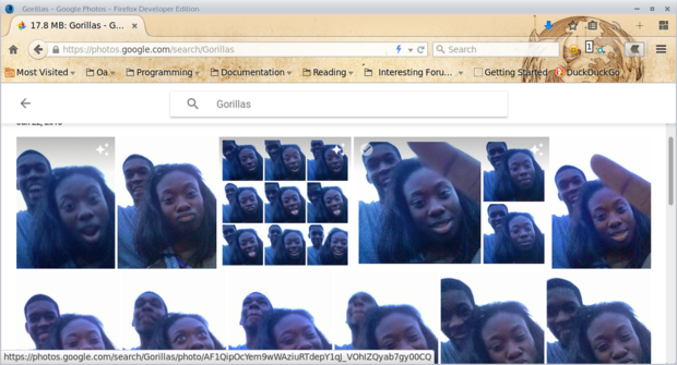 Сервис Google по ошибке назвал чернокожих американцев гориллами