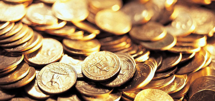 19 креативных идей использования монет дизайн, креатив, монета, украшение