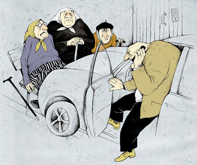 Веселые рисунки Ольги Громовой