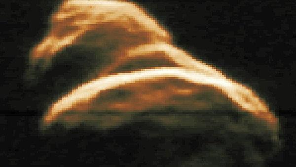 Астероид Таутатис в среду пролетит мимо Земли.