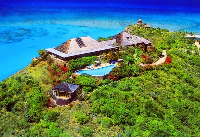 Necker island harry styles