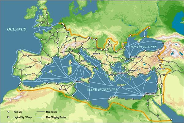 Работорговля и пиратство — источники дохода Римской империи. Экономика Древнего Рима. Императорский период истории Рима (3 статьи)