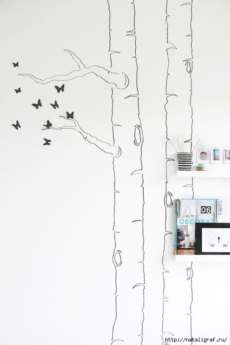 Про стены: роспись и декор
