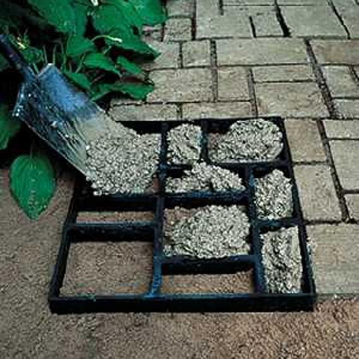 Тротуарная плитка как изготовить