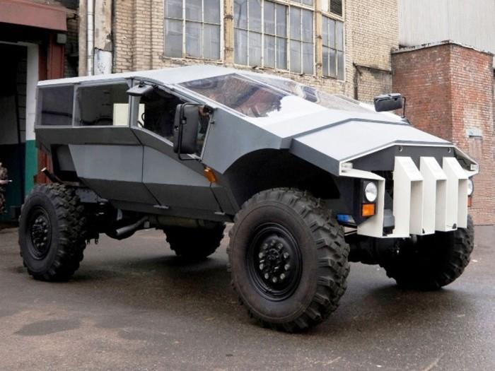 Новый армейский автомобиль от ЗИЛ.