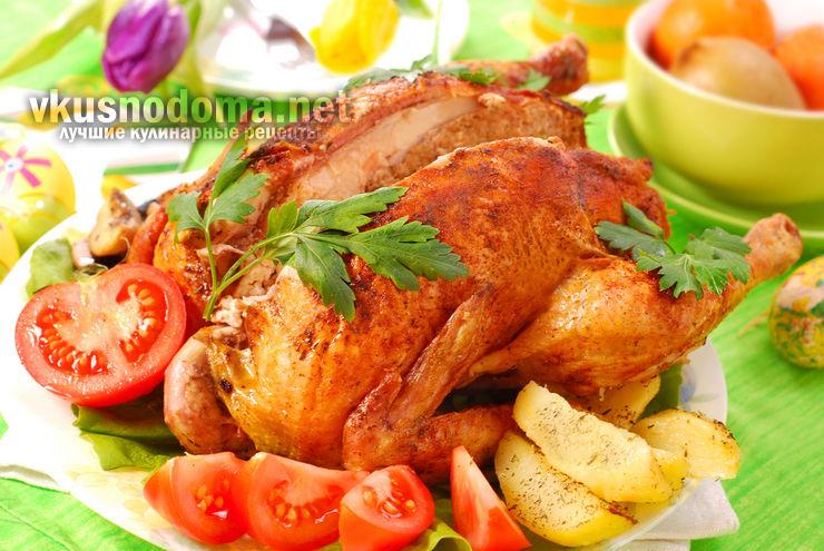 Сочная курица в остром медовом маринаде