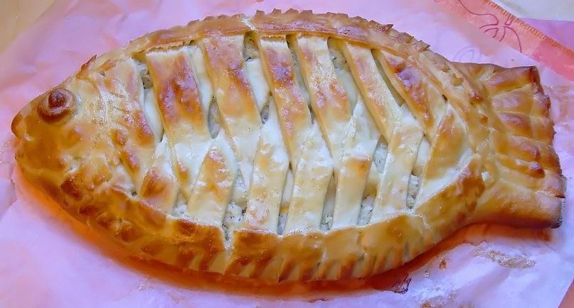 Пирог из рыбы сырок рецепты
