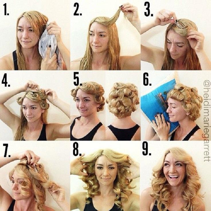 Как уложить волосы в домашних условиях на каждый день