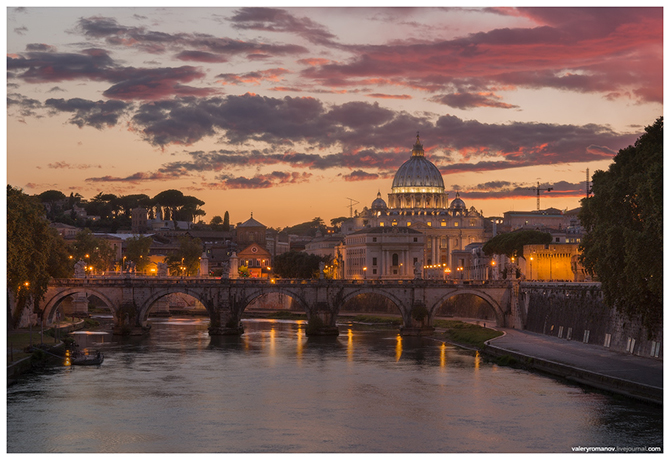 Утреннее очарование Рима и Ватикан