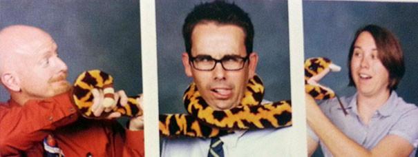 4. Каждый год три преподавателя подготавливают свои особые портреты для альбома выпускного класса подборка, учитель, юмор
