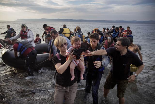 Норвежцы помогают (фоторепортаж)