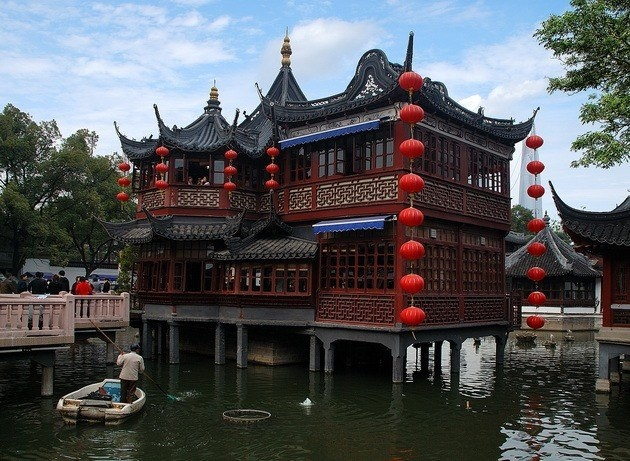 Парк Юйюань – сад Радости в Шанхае