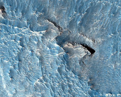 Фото: Марс в неожиданном цвете