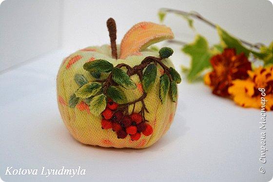 Поделки из ткани яблоко 90