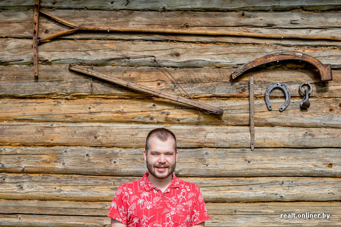 Белорусский бизнесмен восстановил заброшенную деревню