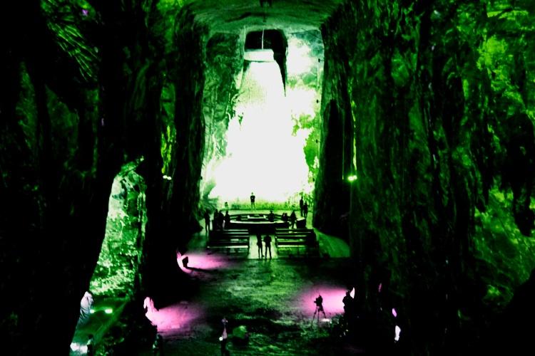 Подземный собор в Зипакире (Колумбия)