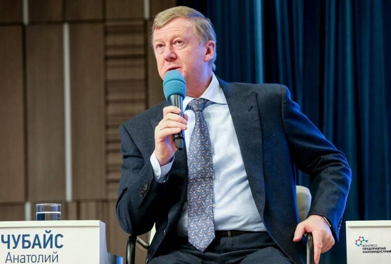 Чубайс: все затраты на создание «Роснано» возвращены государству