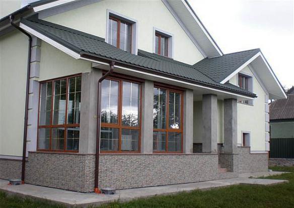 Красивые дома фото, дизайн дома, коттеджи фото, частные дома фото - Страница 9 ibud.ua