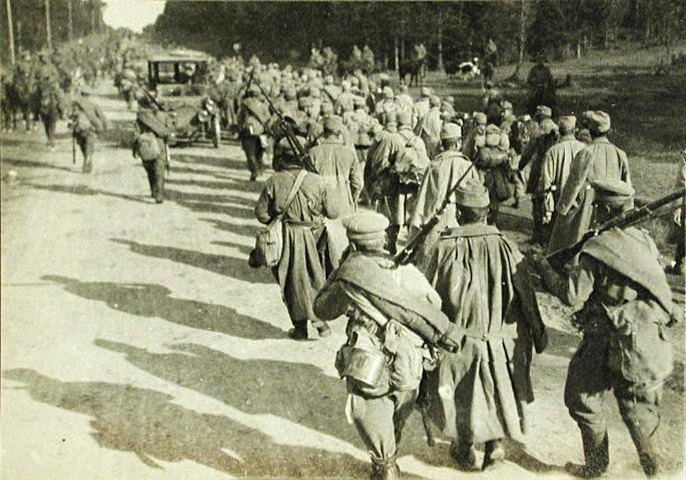 талон наступоение русской армии в галиции прикосновения, зарпетные