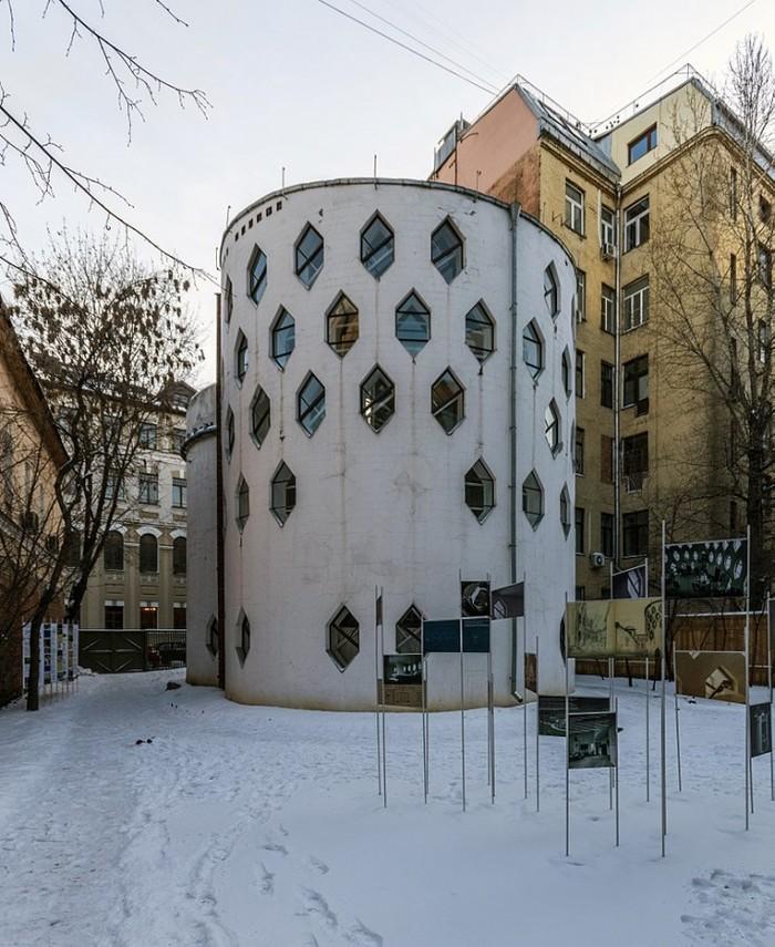 Дом Мельникова. Дом Мельникова, Архитектура, Москва, Длиннопост