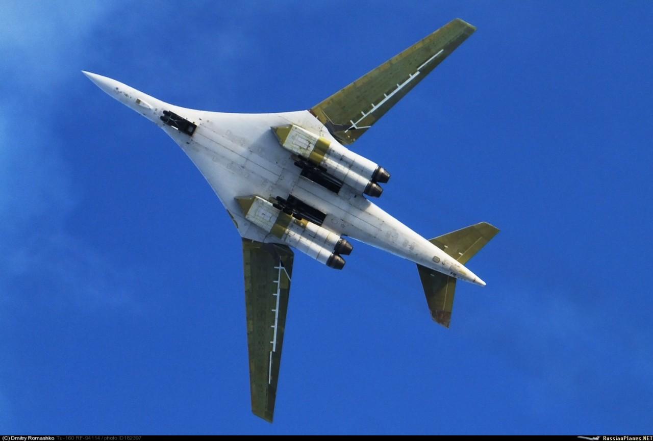 О работах по возобновлению производства стратегических бомбардировщиков Ту-160