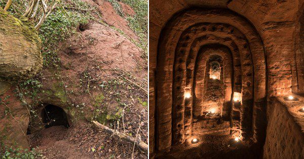 Эта кроличья нора ведет в 700-летнюю тайную пещеру рыцарей-тамплиеров