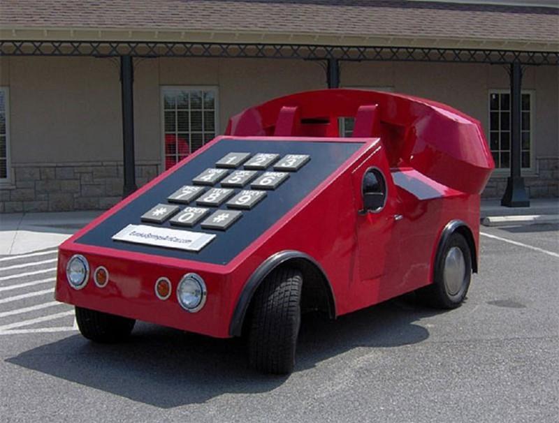 11. Автомобиль-телефон автомобили, концепт-кары, странности