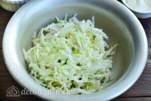 Капустные котлеты с плавленым сыром: фото к шагу 1