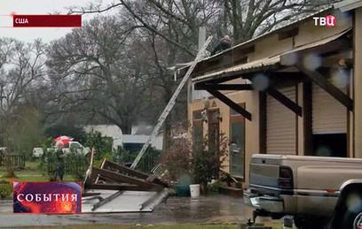 Число жертв торнадо в США увеличилось до шести