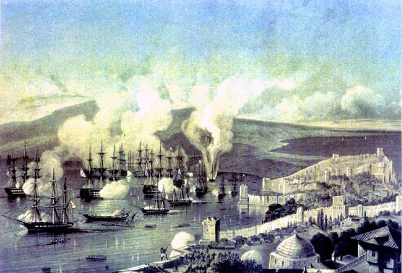 Синопское морское сражение война, история
