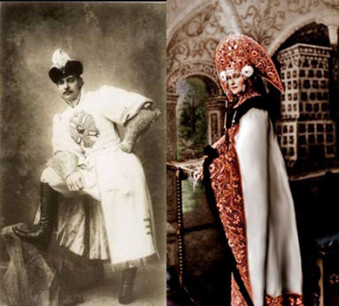 Прототипы бубнового валета и трефовой дамы