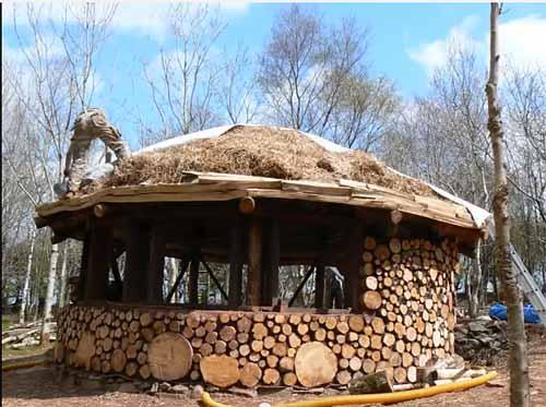 необычный дачный домик своими руками