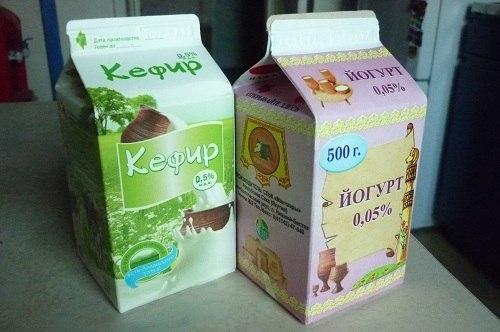 Кефир полезнее, чем йогурт
