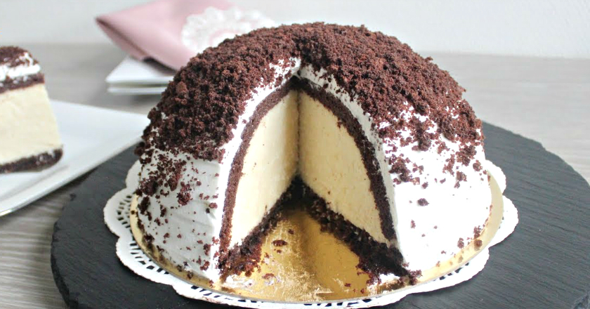 """Торт """"Высокий купол"""" - просто и эффектно!"""