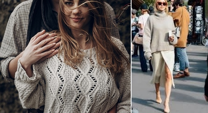 модные свитера и свитшоты