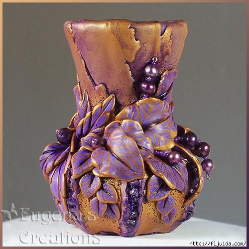 Шикарные работы по керамике и холодному фарфору
